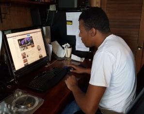 forward head posture computer